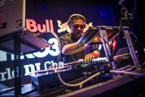 DJ Hedspin @ Red Bull Thre3Style World Final 2015 © Andrey Belchenkov / Red Bull Content Pool